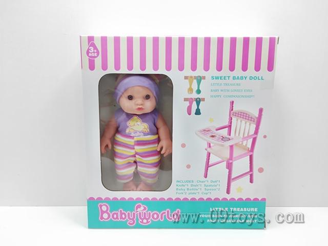 过家家男孩娃娃座椅 加配件