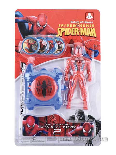 蜘蛛公仔弹射手表