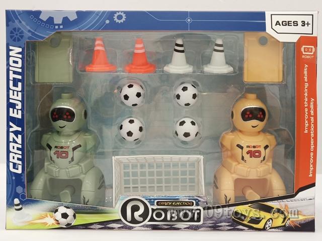 弹射足球员机器人比赛套装