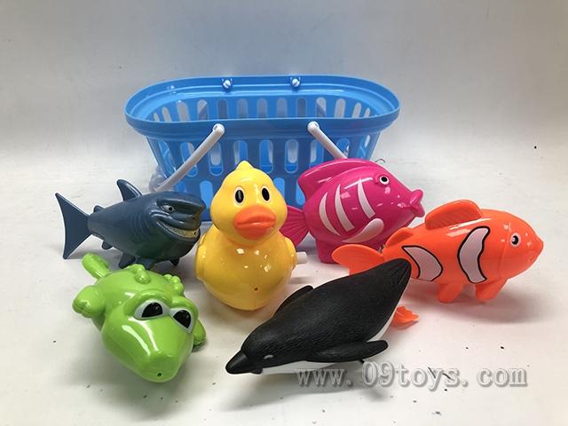上链戏水玩具