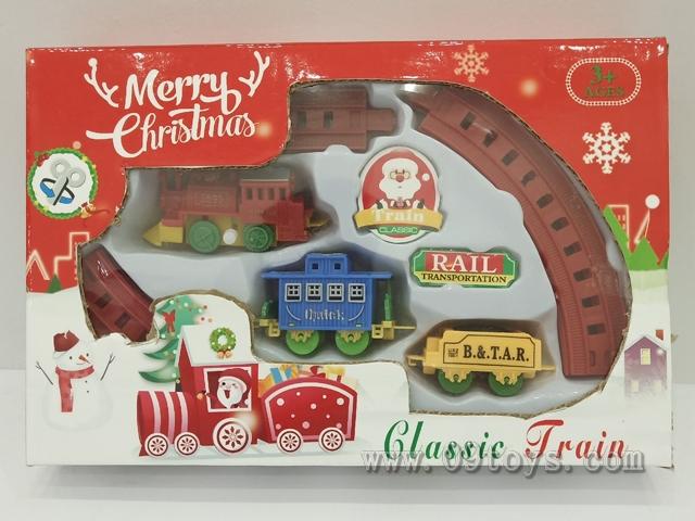 上链圣诞轨道车