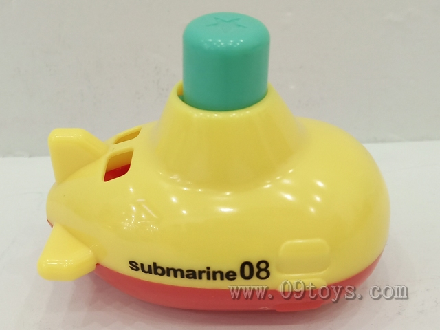 卡通按压潜水艇
