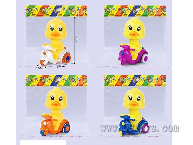 小黄鸭按压车(无声 光)